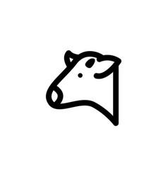 beef icon symbols vector image