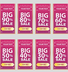 big sale Big Sale Best offer badge sticker vector image
