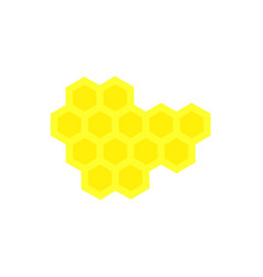 honey of the set of icon colour vector image