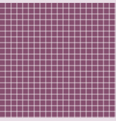 squares floor grid seamless pattern lilac colors vector image