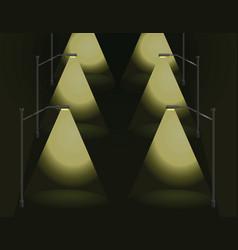 city light 2 vector image