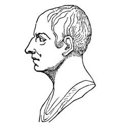 Cicero vintage vector