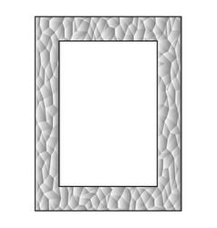 Gradient polygon frame vector