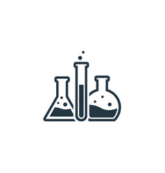 laboratory icon simple element for vector image