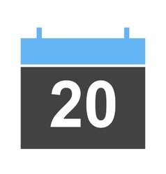 Marked Date vector image