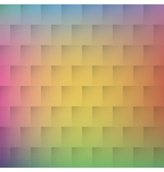 Mosaic geometric background with pastel colors vector