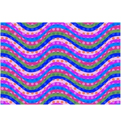 seamless curve pattern vector image