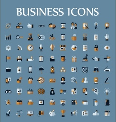 Set of web icons for business communication and vector image