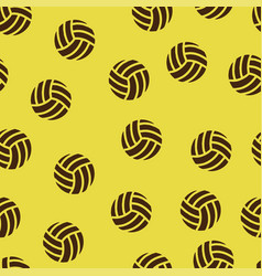 volleyball pattern seamless vector image