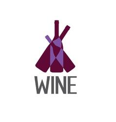 wine design template vector image
