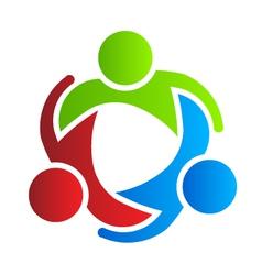 Business logo design partners 3 vector