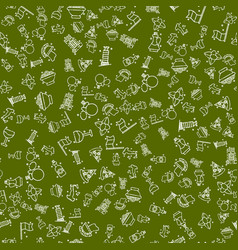 italy set pattern vector image vector image