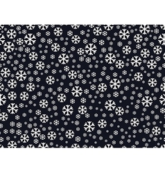 Seamless pattern with snowflakes christmas pattern vector