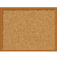corkboard vector image vector image