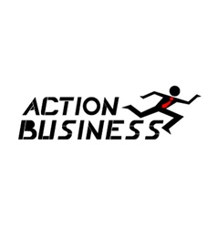 Action business vector image