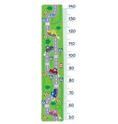 Road meter wall vector image vector image