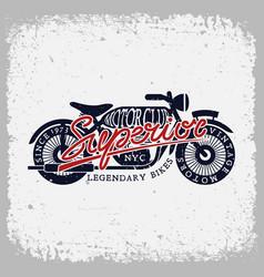 superior motorclub vector image vector image