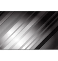 Abstract grey tech card with lighting effect vector image