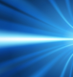 blue light lines background vector image