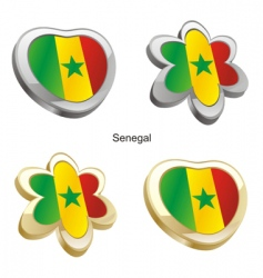 flag of Senegal vector image