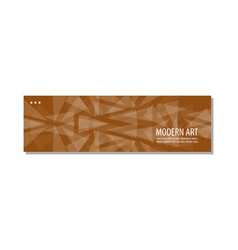Flat linear promotion ribbon banner scroll price vector
