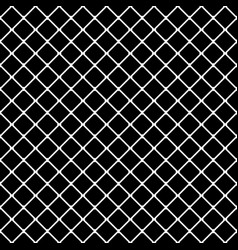 interconnected squares seamless monochrome vector image