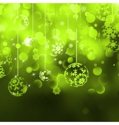 Merry Christmas Elegant Background EPS 8 vector image