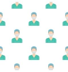 Nurse icon cartoon Single medicine icon from the vector