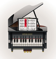 vector grand piano xxl icon vector image
