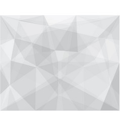 white mosaic geometric abstract background vector image
