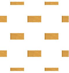 Wooden plank pattern flat vector