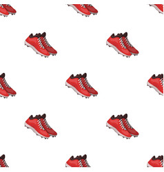 Baseball sneakers baseball single icon in cartoon vector