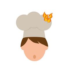 Chef cartoon character vector