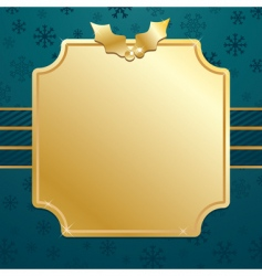 Gold christmas vector