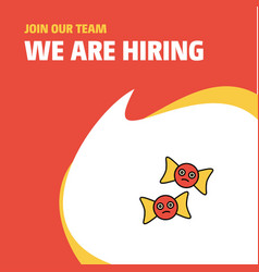 Join our team busienss company spider web and vector