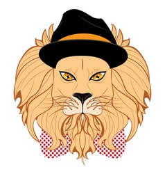 Lion Hipster2 vector