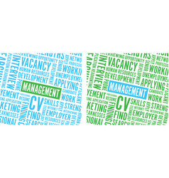 Management text background vector
