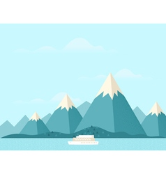 Mountain nature3 vector