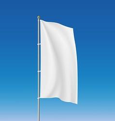 White flag Stock vector