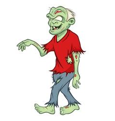 Zombie walking vector