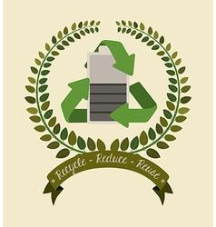 Environmental campaing design vector