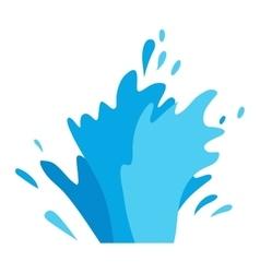 Water splashes set vector image vector image