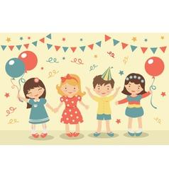 Kids party vector