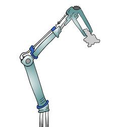 arm tech vector image