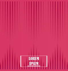 background pattern lines fashion design template vector image