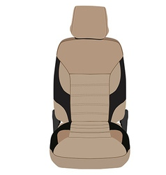 Car seat vector image
