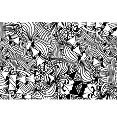Fashion horizontal wallpaper design with black and vector image