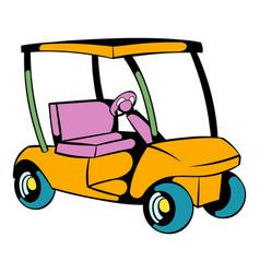 Golf car icon icon cartoon vector