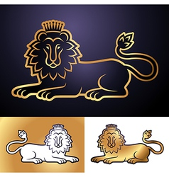 Lion perfect vector image