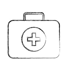 Medical bag cartoon vector
